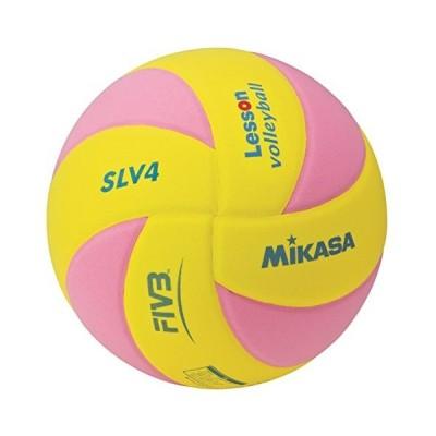 MIKASA(ミカサ) SLV4YP   レッスンバレーEVA_ヤク160G_キ/ピンク