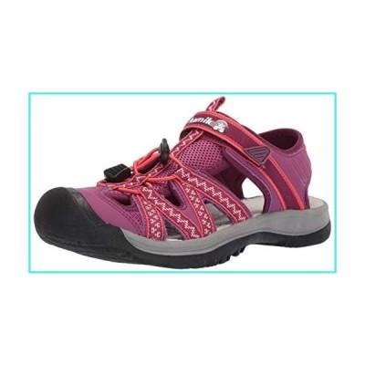 【新品】Kamik Women's ISLANDER2 Sport Sandal, Plum, 8 M US(並行輸入品)