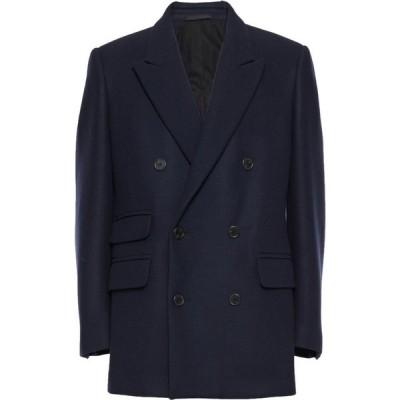 ステラ マッカートニー STELLA McCARTNEY MEN メンズ コート アウター coat Dark blue