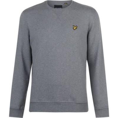 ライル アンド スコット Lyle and Scott メンズ スウェット・トレーナー トップス Crew Sweatshirt Grey T