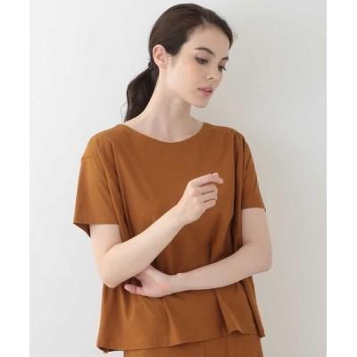 GIANNI LO GIUDICE/ジャンニ・ロ・ジュディチェ オーバーサイズTシャツ オレンジ 40