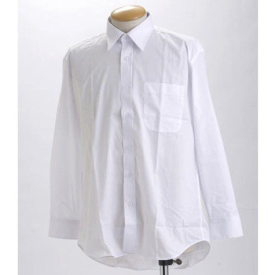 ブラック & ホワイト 長袖百貨店仕様 Yシャツ OZ517008 LLサイズ 〔 2枚セット 〕