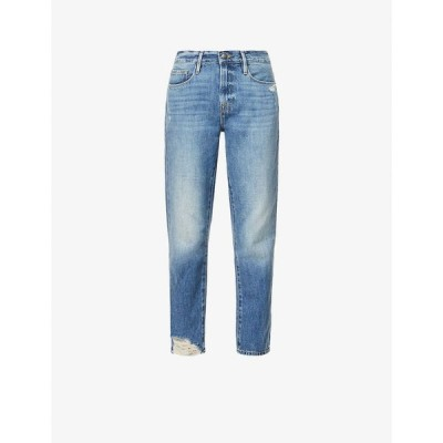 フレーム FRAME レディース ジーンズ・デニム ボトムス・パンツ Le nouveau high-rise straight-leg jeans Whitmore