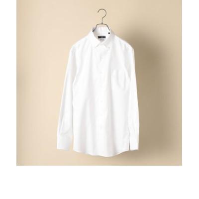 SHIPS:【テレワーク対応可能】イージーアイロン イタリアンボタンダウン オックスフォード ソリッド シャツ