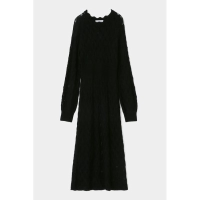 【マウジー/MOUSSY】 GEOMETRIC PATTERN ニット ドレス