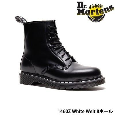 ドクターマーチン メンズ レディース 8ホール ブーツ CORE 1460Z ホワイトウェルト エイトホールブーツ レザー WHITE WELT Dr.Martins DRM24758 国内正規品