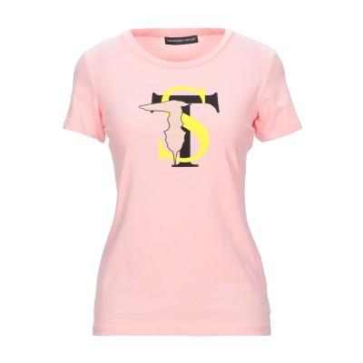 トラサルディ ジーンズ TRUSSARDI T シャツ ピンク XS コットン 93% / ポリウレタン 7% T シャツ