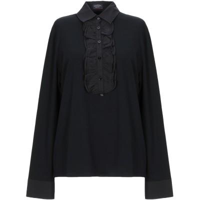 ポール・アンド・シャーク PAUL & SHARK ポロシャツ ブラック XL コットン 90% / ポリウレタン 10% ポロシャツ