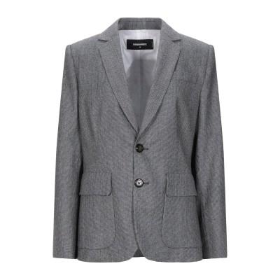 ディースクエアード DSQUARED2 テーラードジャケット 鉛色 38 バージンウール 100% テーラードジャケット
