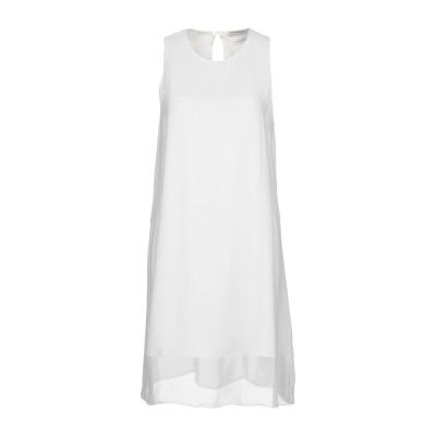 イーチ×アザー EACH X OTHER ミニワンピース&ドレス ブライトブルー XS シルク 100% ミニワンピース&ドレス