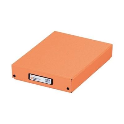 LIHITLAB デスクトレー G83004 A4 橙(×10)