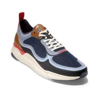 コールハーン メンズ スニーカー シューズ Men's Grand Sport Trainer Sneaker Ombre Blue Marine Blue Tango Red