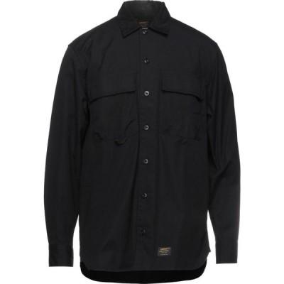 カーハート CARHARTT メンズ シャツ トップス solid color shirt Black