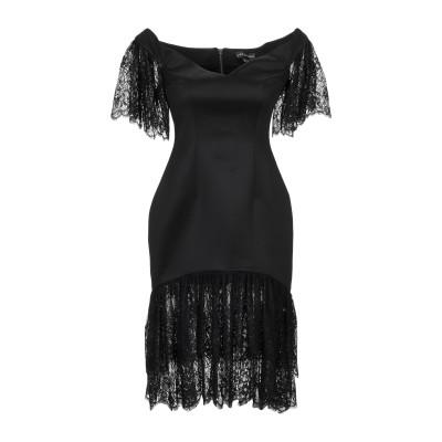 VATANIKA ミニワンピース&ドレス ブラック 8 ポリエステル 96% / ナイロン 4% ミニワンピース&ドレス