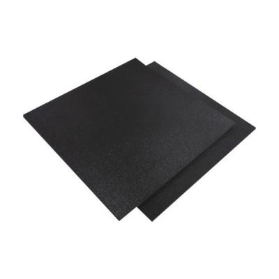 トラスコ中山 tr-8363116 イノアック カームフレックス F-4 黒 5x1000x1000 化粧断ち加工 (tr8363116)