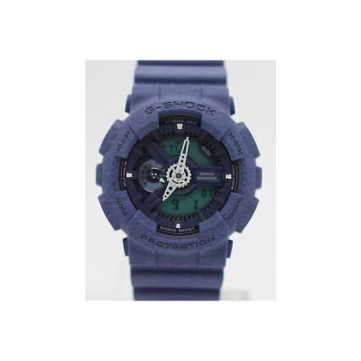 カシオ 腕時計 Casio G-Shock Heatheレッド レジン ストラップ アナログ デジタル メンズ 腕時計 GA110HT-2A