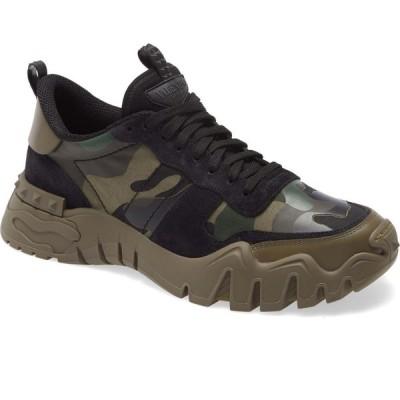 ヴァレンティノ VALENTINO GARAVANI メンズ スニーカー チャンキーヒール シューズ・靴 Chunky Sneaker Army Green Brushwood