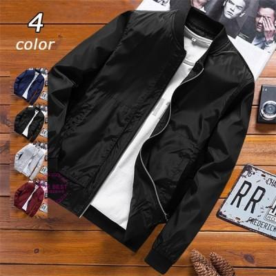 ミリタリージャケット メンズ ウィンドブレーカー ジャケット スタジャン 撥水加工 ジャンパー 防風 春物