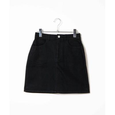 WEGO / WEGO/【XS~Lサイズ】タイトミニスカート WOMEN スカート > デニムスカート