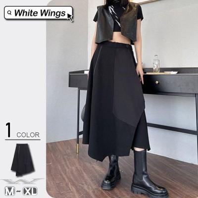 スカート 大人っぽく 新作登場 着痩せ パーティー 韓国風 パウスカート キャミソール 30代 40代 50代