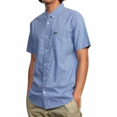 ルーカ RVCA メンズ 半袖シャツ トップス Thatll Do Print Short - Sleeve Shirt Slate