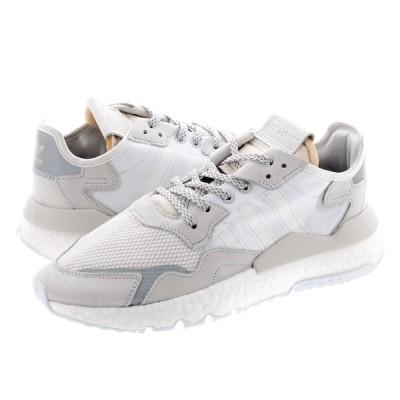 adidas NITE JOGGER アディダス ナイト ジョガー CRYSTAL WHITE/CRYSTAL WHITE/RUNNING WHITE ee5855