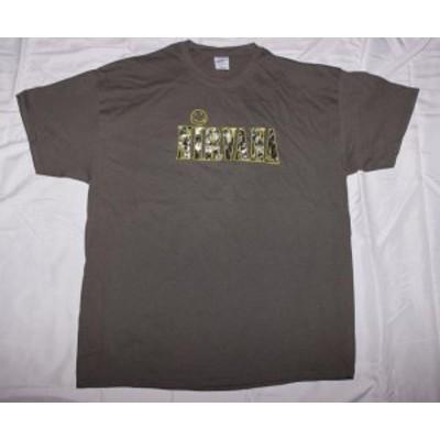 ファッション トップス Nirvana-Smiley and Picture Logo-X-Large Charcoal Gray T-shirt