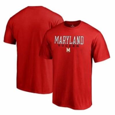 Fanatics Branded ファナティクス ブランド スポーツ用品  Fanatics Branded Maryland Terrapins Red True Sport Soccer T-Shirt