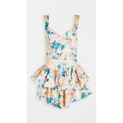 フォーラブアンドレモン For Love & Lemons レディース ワンピース ミニ丈 ワンピース・ドレス Holis Mini Dress Peach