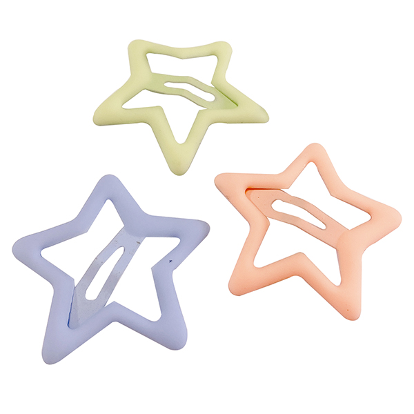 G&G糖果色星星BB夾(兩入組)顏色款式隨機出貨