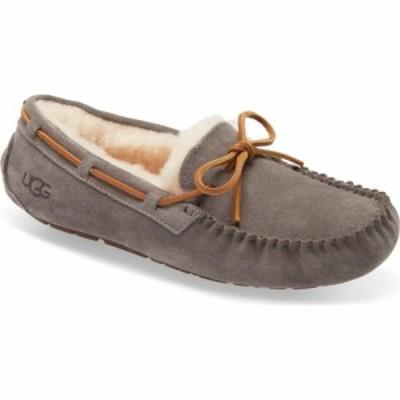 アグ UGG レディース スリッパ シューズ・靴 Dakota Slipper Pewter Suede