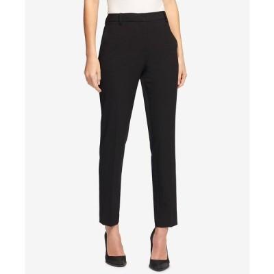 ダナ キャラン ニューヨーク カジュアルパンツ ボトムス レディース Essex Slim-Leg Pants Black