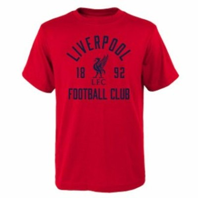 Outerstuff アウタースタッフ スポーツ用品  Liverpool Youth Red Last Touch T-Shirt