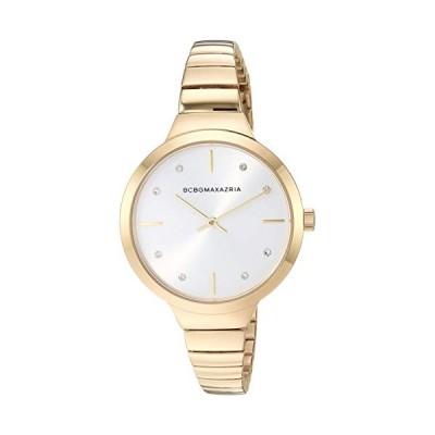 BCBGMAXAZRIA Women's Japanese-Quartz Watch with Stainless-Steel Strap, Gold