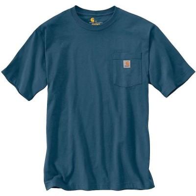 カーハート Carhartt メンズ Tシャツ ポケット トップス Workwear Pocket SS T Shirt Stream Blue