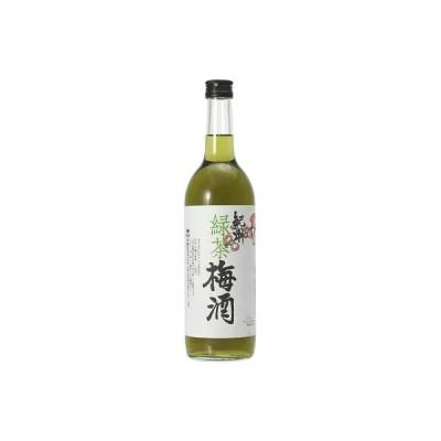 お取り寄せ 紀州 緑茶梅酒 720ml 12度 中野BC 和歌山県海南市