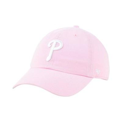 47ブランド 帽子 アクセサリー レディース Philadelphia Phillies Pink CLEAN UP Cap Pink