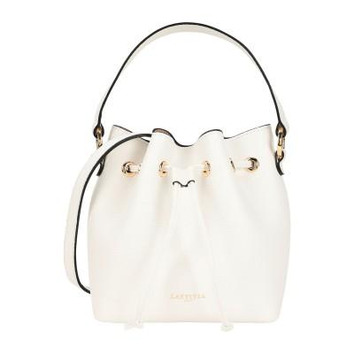 LAETITIA ハンドバッグ ホワイト 牛革(カーフ) ハンドバッグ
