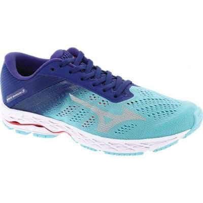 ミズノ Mizuno レディース ランニング・ウォーキング シューズ・靴 Wave Shadow 3 Running Shoe Bluegrass/Glacier Gray