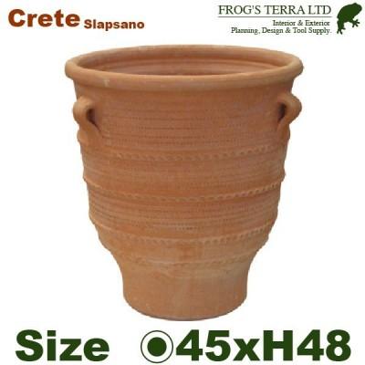 スラップサーノ M(直径45cm×H48cm)(底穴あり)(陶器鉢/テラコッタ)(プランター/園芸/寄せ植え/ポット)