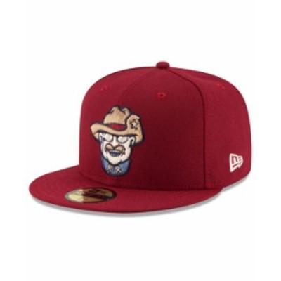 ニューエラ メンズ 帽子 アクセサリー Frisco RoughRiders AC 59FIFTY Fitted Cap Maroon