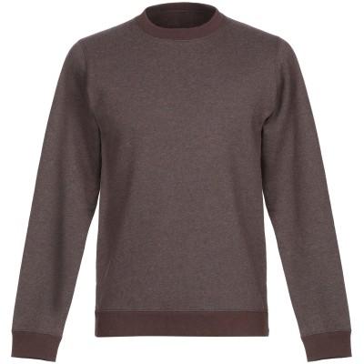 ANERKJENDT スウェットシャツ ココア S コットン 80% / ポリエステル 20% スウェットシャツ
