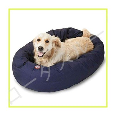 40 inch Blue Bagel Dog Bed By Majestic Pet Products by Majestic Pet 並行輸入品