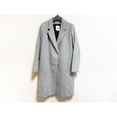 クラネ CLANE サイズ38 M レディース グレー 冬物【中古】20210419