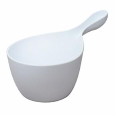 ヒューバス(HUBATH) ハンディボール N-HU ホワイト│お風呂用品・バスグッズ 洗面器・風呂桶