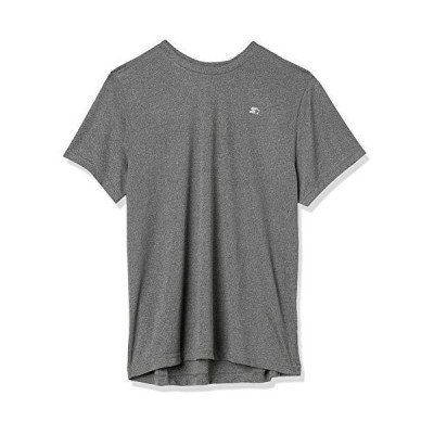 Starter Men's Athletic-Fit Short Sleeve Tech T-Shirt Amazon Exclusive Carbo