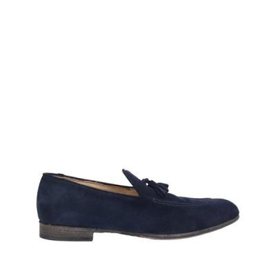 LEMARGO モカシン  メンズファッション  メンズシューズ、紳士靴  モカシン ダークブルー