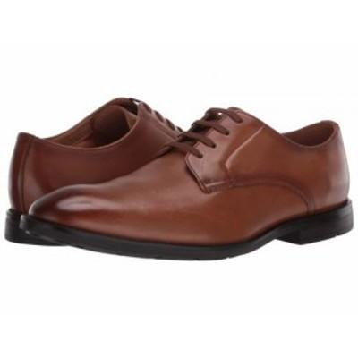 Clarks クラークス メンズ 男性用 シューズ 靴 オックスフォード 紳士靴 通勤靴 Ronnie Walk Tan Leather【送料無料】