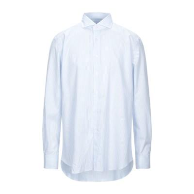 XACUS シャツ ココア 44 コットン 100% シャツ