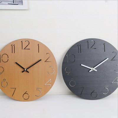 時計 壁掛け 掛け時計 オシャレ 北欧 シンプル おしゃれ 大きい 大型 静音 6タイプ送料無料